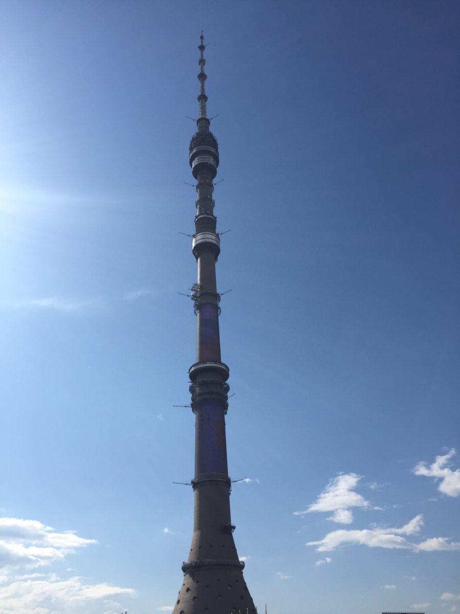 Кондиционирование Останкинской башни