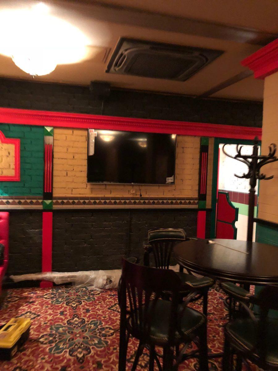 Восстановление системы кондиционирования и вентиляции на ресторане