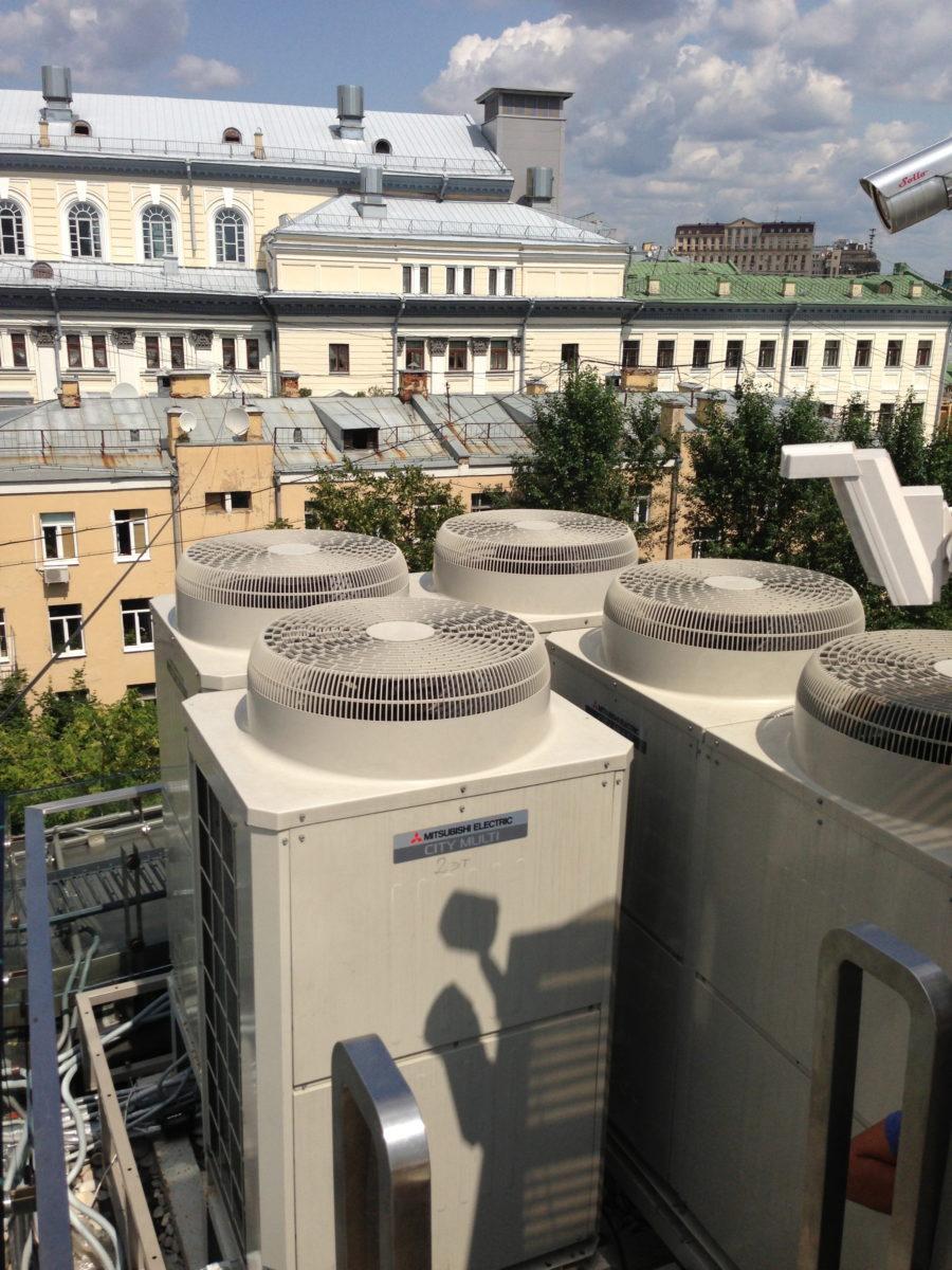 VRV системы кондиционирования