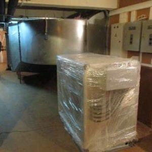 Подъем вентиляционного оборудования
