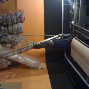 Монтаж системы кондиционирования в студии загара