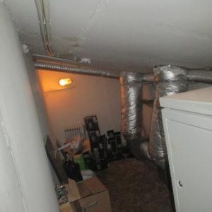 Вытяжная вентиляционная камера до реконструкции