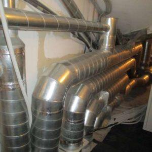 Вытяжная венткамера после модернизации