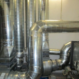 Приточная вентиляционная камера после модернизации