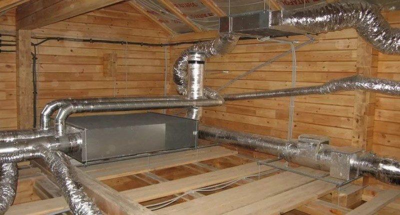 Проектирование вентиляции в частном доме