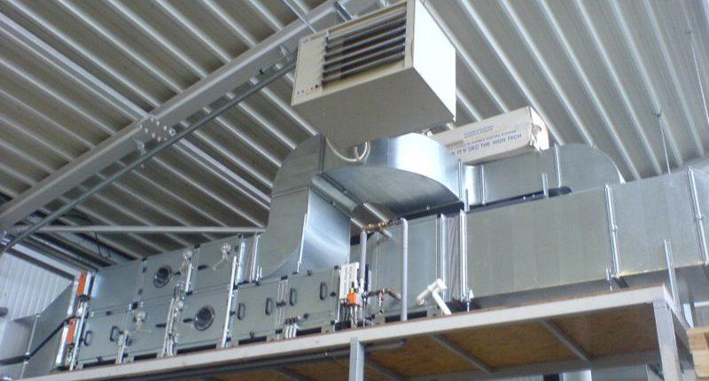 Приточно-вытяжные установки с охлаждением